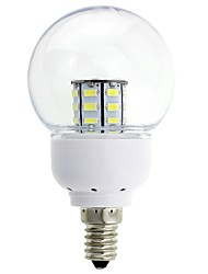 E14 2W 27 SMD 5630 150-200 LM Warm White / Cool White Decorative LED Globe Bulbs DC 12 V