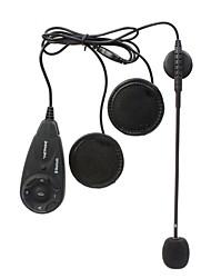 V5 1200M 5-Rider Full Duplex Transmissions Handsfree Bluetooth Intercom Set for Motorcycle (Black)