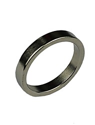 Magic Props Bright Simple Magnetic Magic Ring Silver