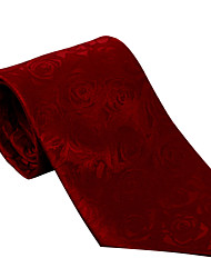Red Pattern Tie