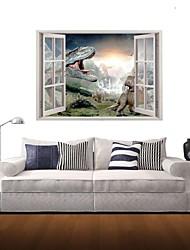 3d наклейки наклейки на стены, динозавр декор виниловые наклейки для стен