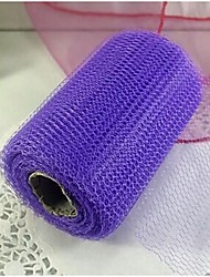 "6""(14cm) x 30Yards Wedding Gift Craft Wedding Decoration Tulle Roll Spool Mesh"