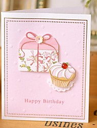 Lce Cream Birthday Card Mini (7.5*9cm)