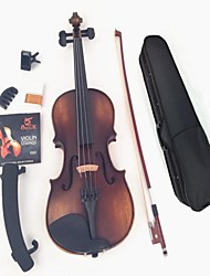 Color Restoring Ancient Ways Of Dumb Light Of Violin + Strings+ Tuner+  Mute + Rosin+  Bow + BoxA