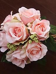 Elegant Fresh Rose Wedding Bridal Bouquets(More Colors)