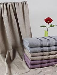 "Bath Towel, 3 Colors 70% Bamboo Fiber 30% Cotton Stripe Towel 55""*29"""