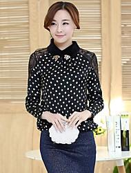 sagetech®women Revers elegent dünne Spitze Shirt (mehr Farben)