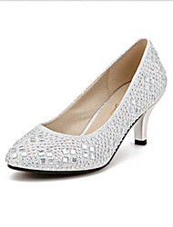 Women's Shoes Pointed Toe Stiletto Heel Pumps with Crystal Wedding Shoes More Colors available