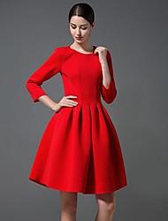 Women's Fashion Space Cotton Dress(More Colors)