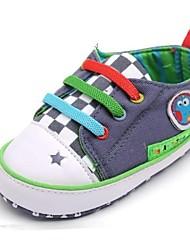 Baby Shoes - Casual - Sneakers alla moda - Di pelle / Cotone - Grigio
