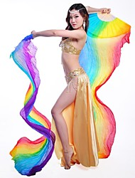 Belly Dance Stage Performance  Real Silk Fan 1 Piece