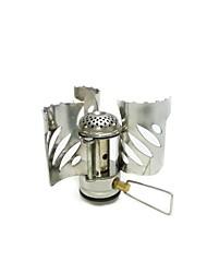 Открытый Отдых Портативный складной ветрозащитный газовая плита