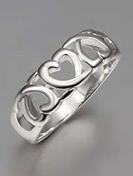 Starry High Quality Casual Heart Ring