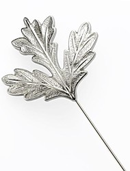 Wedding Flowers Free-form Boutonnieres Wedding / Party/ Evening Metal Silver