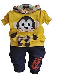 giacca primavera set e l'autunno manica lunga maglietta e pantaloni set baby baby dei bambini vestiti tre pezzi imposta insiemi del bambino