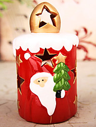 Father Christmas Candle Holder