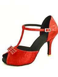 latin anpassbare Frauen Sandalen Tanzschuhe (weitere Farben)