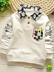 Boy's Cotton Blend Shirt , Winter/Spring/Fall Long Sleeve