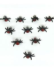Practical Joke Gadgets Lifelike Housefly - Red Brown (10 PCS)