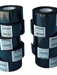 100pcs/lot, Black Ribbon 30*100M For 241B/DY-8 Date Coding Machine, Hot Stamp Date Coder,Ribbon Coding Machine