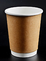 8oz Disposable Paper Cups 100Pcs/Bag
