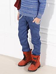muchachos nuevo bordado llegada pantalón largo