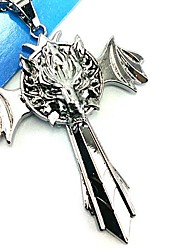 Jewelry Inspired by Final Fantasy Cosplay Anime/ Video Games Cosplay Accessories Necklace Silver Alloy Male