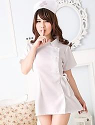 juego de lencería women'ssexy enfermera uniformssexy uniformswhite enfermería