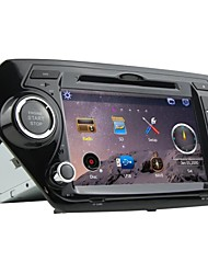 Rungrace 8-inch 2 Din TFT Screen In-Dash Car DVD Player For Kia K2 With Bluetooth,Navigation-Ready GPS,RDS,DVB-T