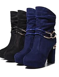 Zhuoyue Women's Fashion Thick Heel Boots