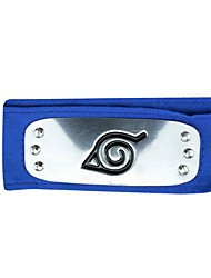 Inspired by Naruto Cosplay Anime Cosplay Costumes Headpiece Blue Headband