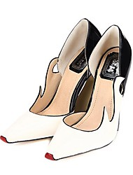 Women's Shoes Pointed Toe Chunky Heel Pumps with Split Joint Shoes