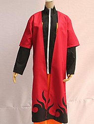 naruto naruto uzumaki lana rojo cosplay manto