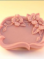 Flower Shaped Fondant Cake Chocolate Silicone Mold