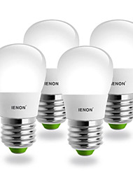 3W E26/E27 LED Kugelbirnen S19 SMD 240-270 lm Kühles Weiß AC 100-240 V