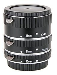 Meike MK-c-af1-un accent af tube de macro d'extension automatique de métal fixée pour appareils photo Canon