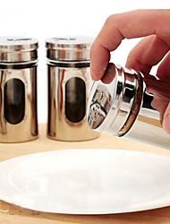 cozinha moda tempero aço inoxidável minimalista latas