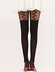 Hosiery Party/Casual Matching Leisure Lightning Pantyhose