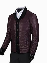 nouveaux modèles d'affaires loisirs explosion des hommes tout-match manteau pied de col