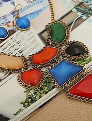 Women's Vintage Multi-level Alloy Jewelry Set