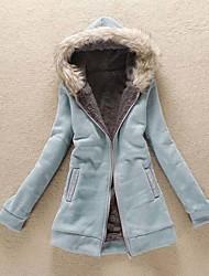 Peach John Women's Casual Long Sleeve Coats