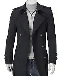 PROMOTION Men's Coat the Fashion Leisure Joker Trench Coat