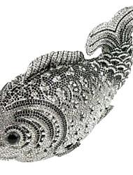 conception cristal de poissons de l'embrayage dîner de fête des femmes