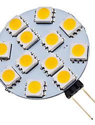 1.5W G4 LED Spot Lampen 12 SMD 5050 70 lm Warmes Weiß / Kühles Weiß AC 12 V