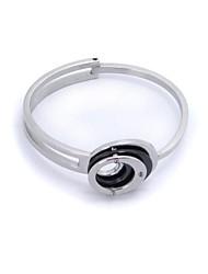 SPHERE Fashion Modern Stainless Steel Can Be Open Cuff Bracelets