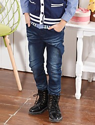 Boy's Cotton Jeans,All Seasons Print