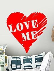 pegatinas de pared de etiquetas de la pared, modernas amor pvc pegatinas de pared