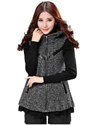 slevee longo casaco outerwear das mulheres