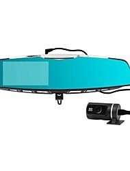 Daul Lens 4.3 inch Bluetooth 140degree Wid Angle  Full HD 1080p Car Rear View Mirror Camera