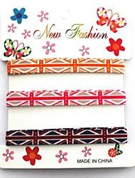 3/8 de polegada de moda britânico enrolar a bandeira de união impressão fita padrão de costela da fita 1 metros por rolo (três cores de um cartão)